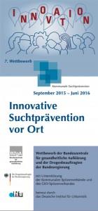 Wettbewerb Innovative Suchtprävention